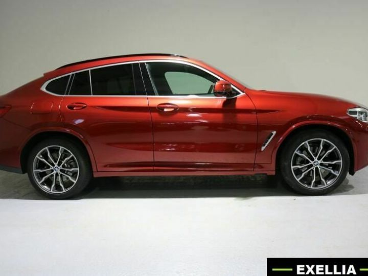 BMW X4 20d xDRIVE M  ROUGE PEINTURE METALISE  Occasion - 4