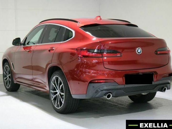 BMW X4 20d xDRIVE M  ROUGE PEINTURE METALISE  Occasion - 5