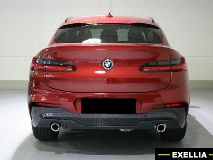 BMW X4 20d xDRIVE M  ROUGE PEINTURE METALISE  Occasion - 6