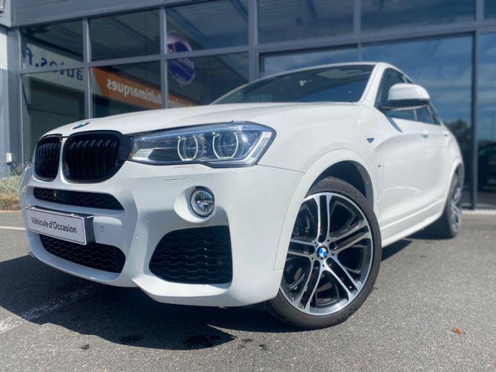 BMW X4 (F26) XDRIVE35DA 313CH M SPORT Blanc - 1