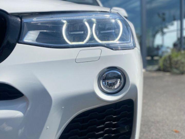 BMW X4 (F26) XDRIVE35DA 313CH M SPORT Blanc - 2