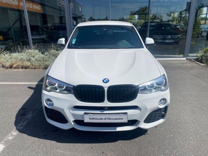 BMW X4 (F26) XDRIVE35DA 313CH M SPORT Blanc - 4