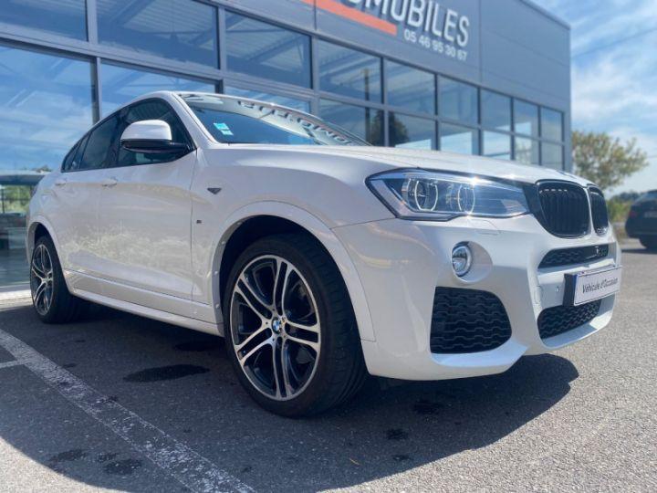 BMW X4 (F26) XDRIVE35DA 313CH M SPORT Blanc - 5