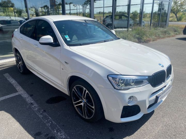 BMW X4 (F26) XDRIVE35DA 313CH M SPORT Blanc - 6