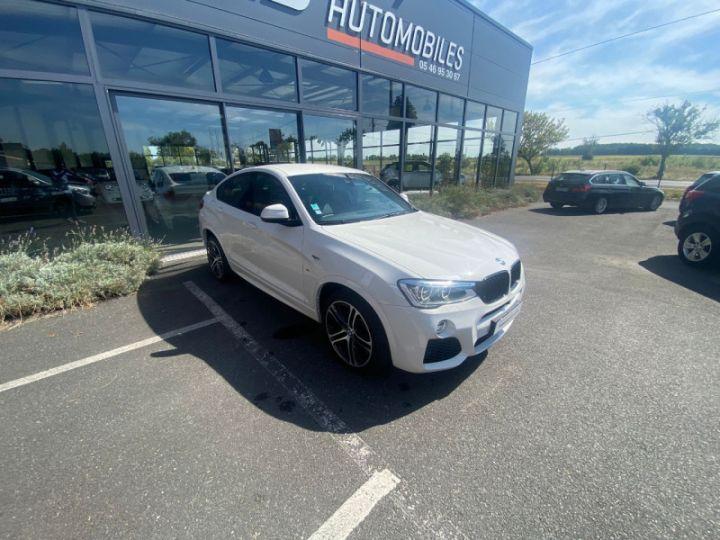BMW X4 (F26) XDRIVE35DA 313CH M SPORT Blanc - 8