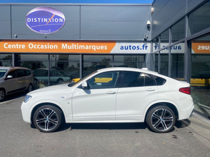 BMW X4 (F26) XDRIVE35DA 313CH M SPORT Blanc - 10