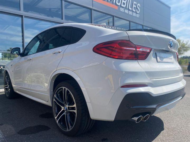 BMW X4 (F26) XDRIVE35DA 313CH M SPORT Blanc - 12