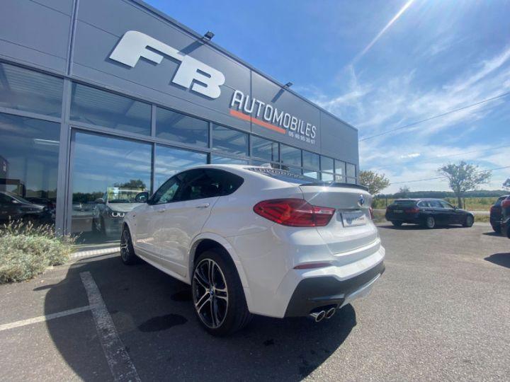 BMW X4 (F26) XDRIVE35DA 313CH M SPORT Blanc - 14