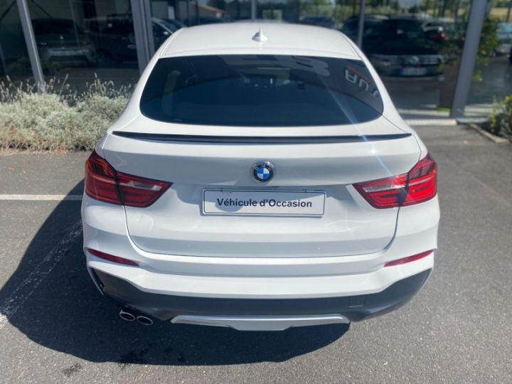 BMW X4 (F26) XDRIVE35DA 313CH M SPORT Blanc - 17