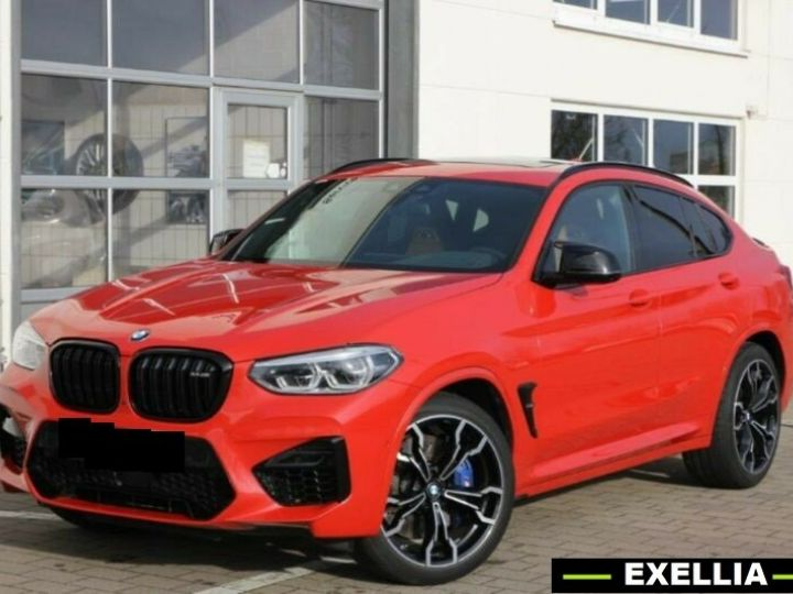 BMW X4 M COMPETITION  ROUGE PEINTURE METALISE  Occasion - 1