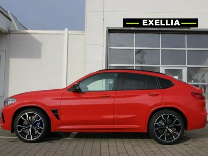 BMW X4 M COMPETITION  ROUGE PEINTURE METALISE  Occasion - 3