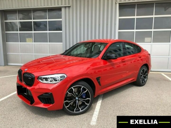 BMW X4 M COMPETITION 510 ROUGE TORONTO Occasion - 4