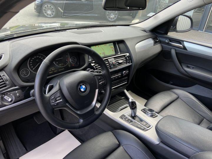 BMW X4 XDRIVE 20 D X-LINE 190ch (F26) BVA8 GRIS FONCE - 7