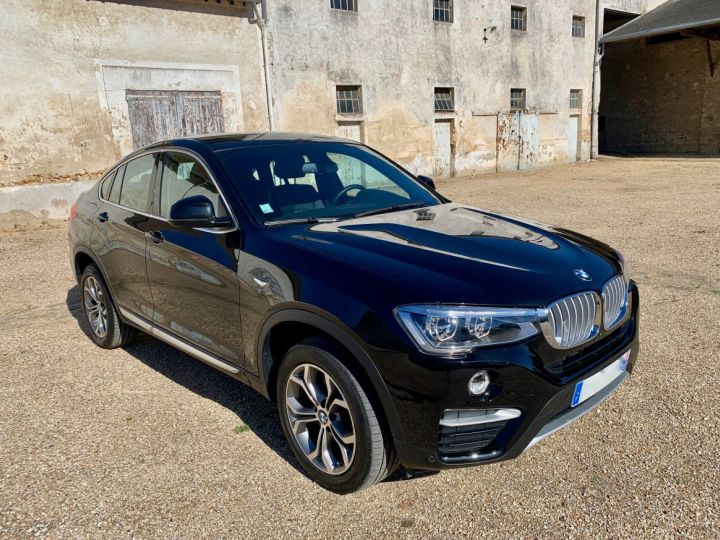 BMW X4 XLine 190 ch XDrive 20d Noir Occasion - 1