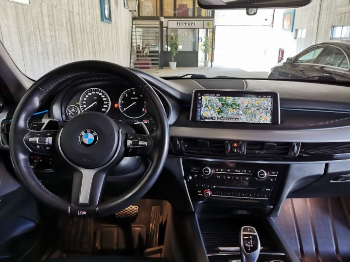 BMW X5 40D 313 CV EXCLUSIVE XDRIVE BVA Gris - 6