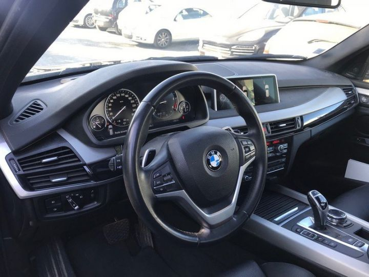 BMW X5 F15 F15 XDRIVE30D 258 XLINE BVA8 7PL Gris foncé Occasion - 12