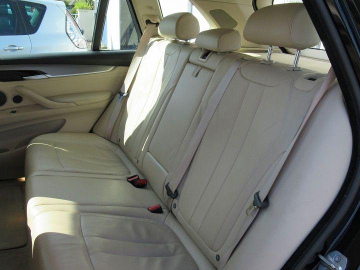 BMW X5 (F15) XDRIVE30DA 258CH EXCLUSIVE Noir - 12