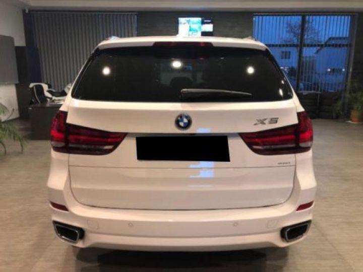 BMW X5 F15 XDRIVE30DA 258CH M SPORT BLANC Occasion - 5