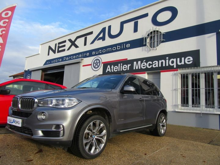 BMW X5 (F15) XDRIVE40EA 313CH EXCLUSIVE Gris Fonce Occasion - 1