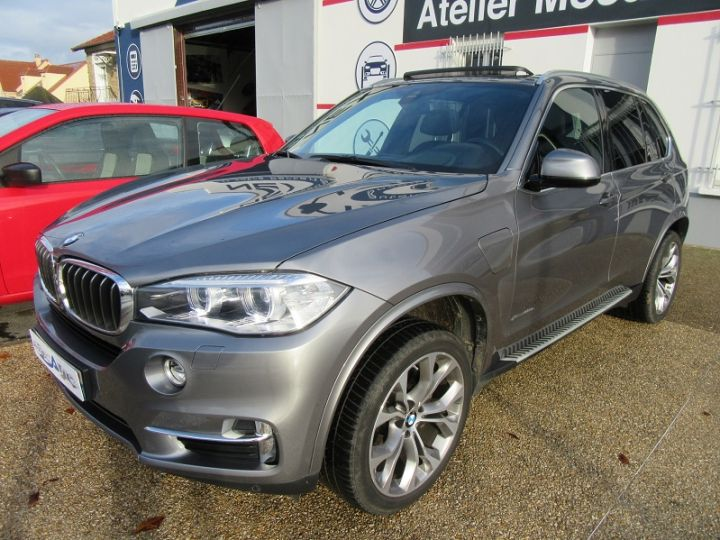 BMW X5 (F15) XDRIVE40EA 313CH EXCLUSIVE Gris Fonce Occasion - 16