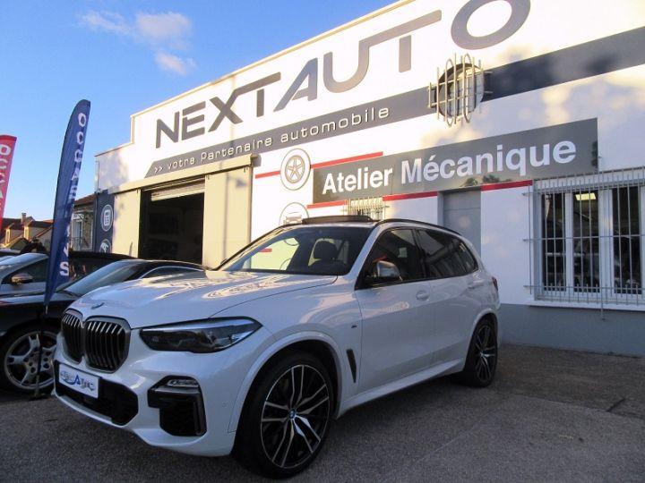BMW X5 (G05) M50DA XDRIVE 400CH Blanc Occasion - 1