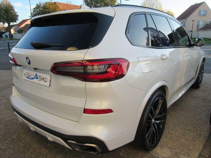 BMW X5 (G05) M50DA XDRIVE 400CH Blanc Occasion - 12