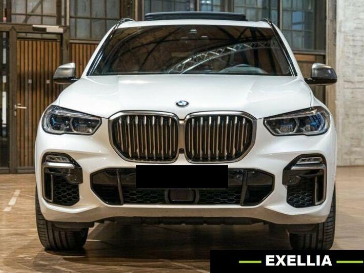 BMW X5 M50d  BLANC PEINTURE METALISE  Occasion - 1
