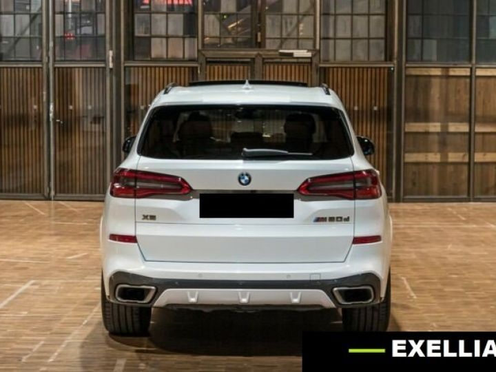 BMW X5 M50d  BLANC PEINTURE METALISE  Occasion - 4