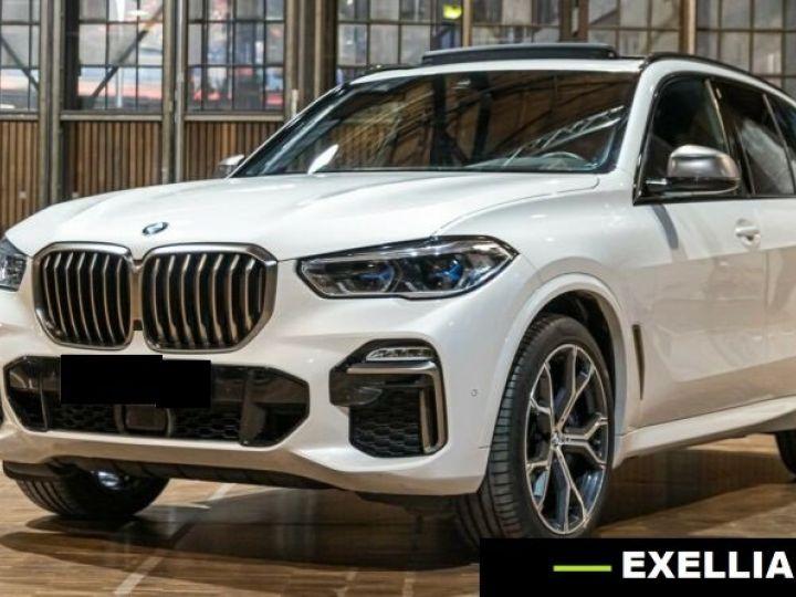 BMW X5 M50d  BLANC PEINTURE METALISE  Occasion - 6