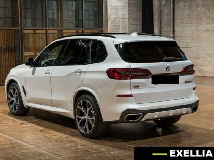 BMW X5 M50d  BLANC PEINTURE METALISE  Occasion - 7