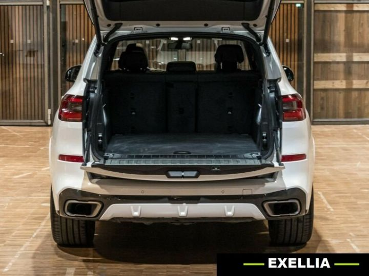 BMW X5 M50d  BLANC PEINTURE METALISE  Occasion - 10