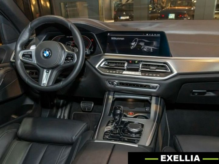 BMW X5 M50d  BLANC PEINTURE METALISE  Occasion - 12