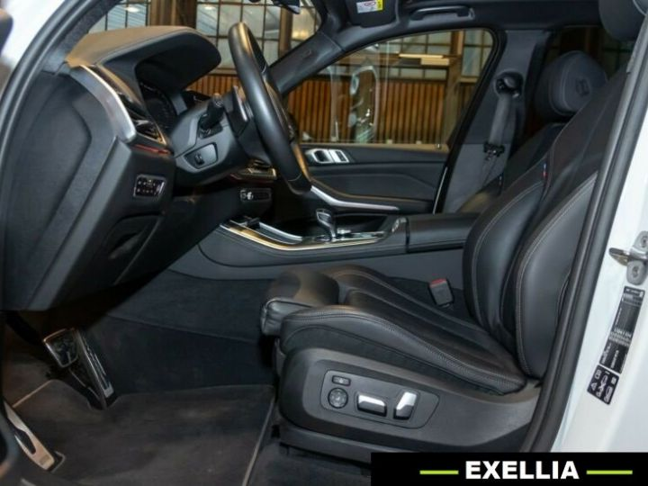BMW X5 M50d  BLANC PEINTURE METALISE  Occasion - 13