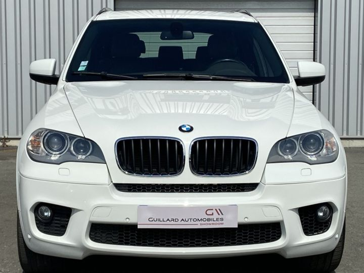 BMW X5 XDRIVE 30 D PACK SPORT M 245ch (E70) BVA8 BLANC - 2