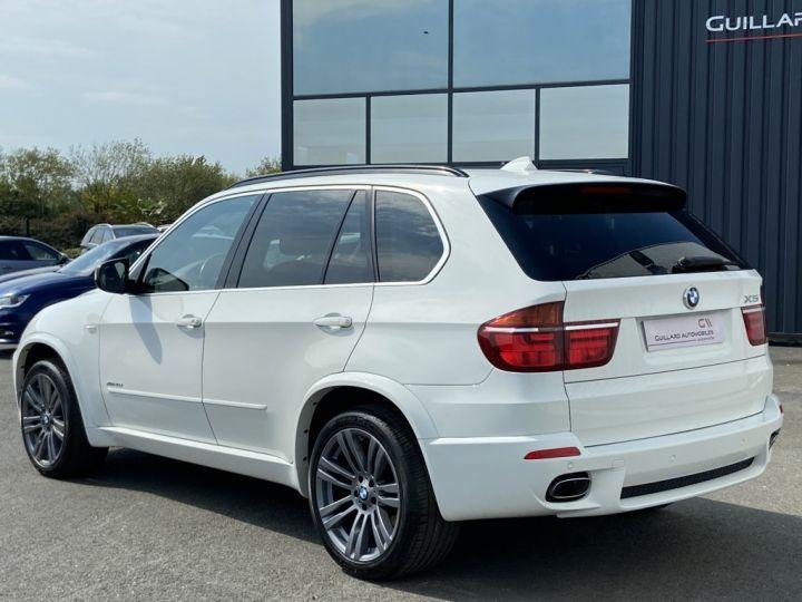 BMW X5 XDRIVE 30 D PACK SPORT M 245ch (E70) BVA8 BLANC - 4