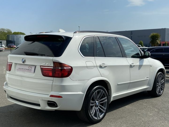 BMW X5 XDRIVE 30 D PACK SPORT M 245ch (E70) BVA8 BLANC - 5