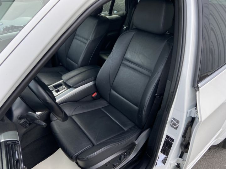 BMW X5 XDRIVE 30 D PACK SPORT M 245ch (E70) BVA8 BLANC - 11