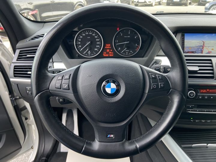 BMW X5 XDRIVE 30 D PACK SPORT M 245ch (E70) BVA8 BLANC - 16