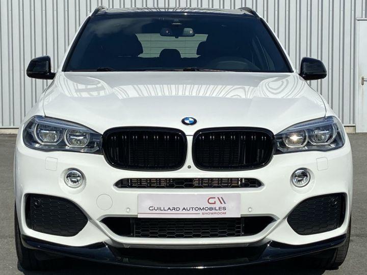 BMW X5 XDRIVE 40 D M-SPORT 313ch (F15) BVA8 7 places BLANC - 2