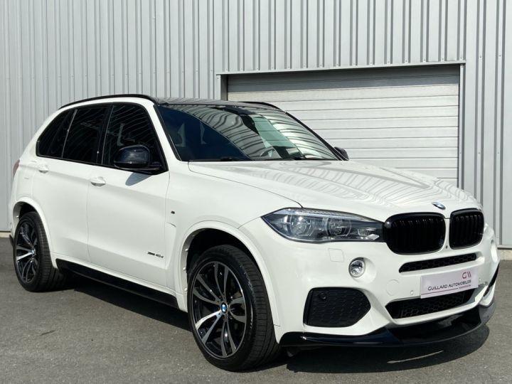 BMW X5 XDRIVE 40 D M-SPORT 313ch (F15) BVA8 7 places BLANC - 4