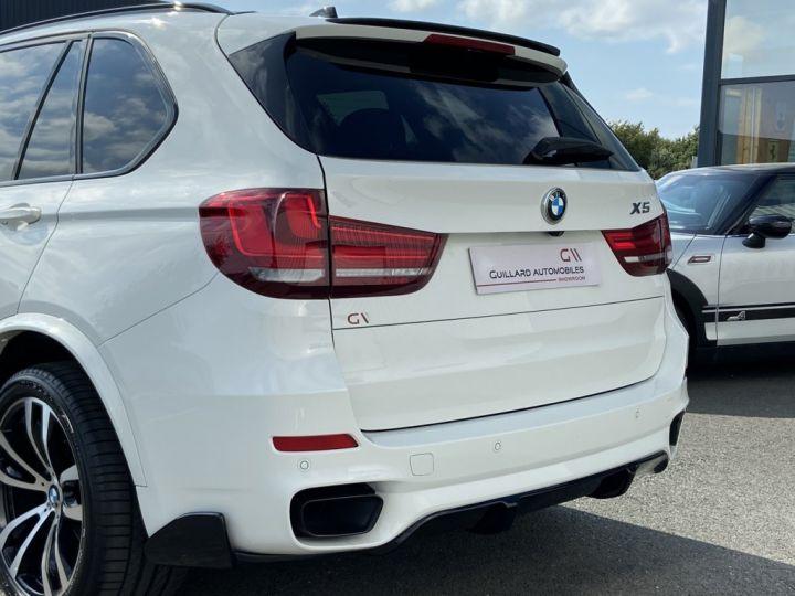 BMW X5 XDRIVE 40 D M-SPORT 313ch (F15) BVA8 7 places BLANC - 6