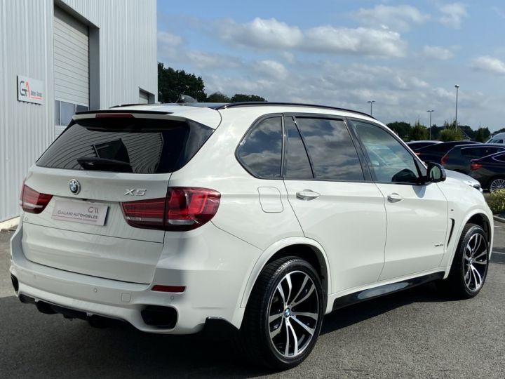 BMW X5 XDRIVE 40 D M-SPORT 313ch (F15) BVA8 7 places BLANC - 7