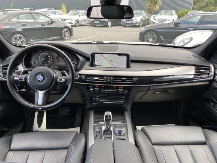 BMW X5 XDRIVE 40 D M-SPORT 313ch (F15) BVA8 7 places BLANC - 10