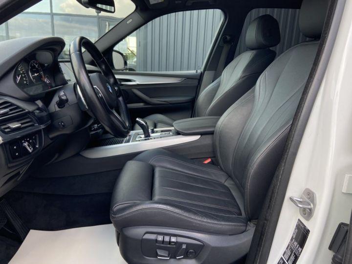 BMW X5 XDRIVE 40 D M-SPORT 313ch (F15) BVA8 7 places BLANC - 12