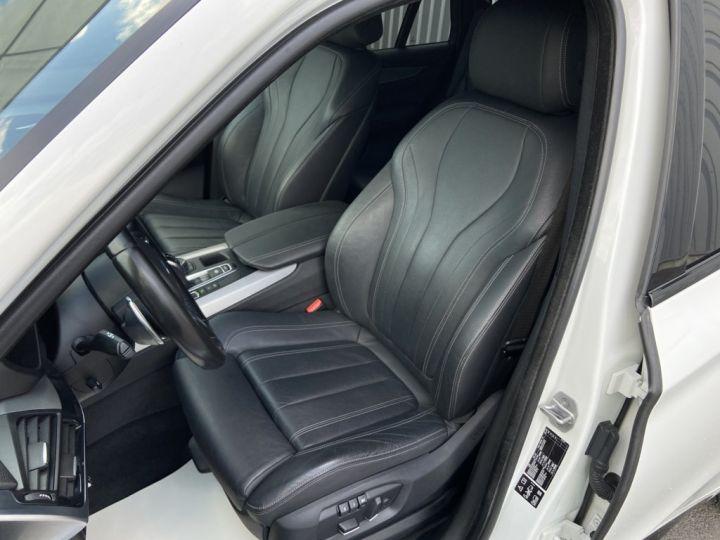 BMW X5 XDRIVE 40 D M-SPORT 313ch (F15) BVA8 7 places BLANC - 13