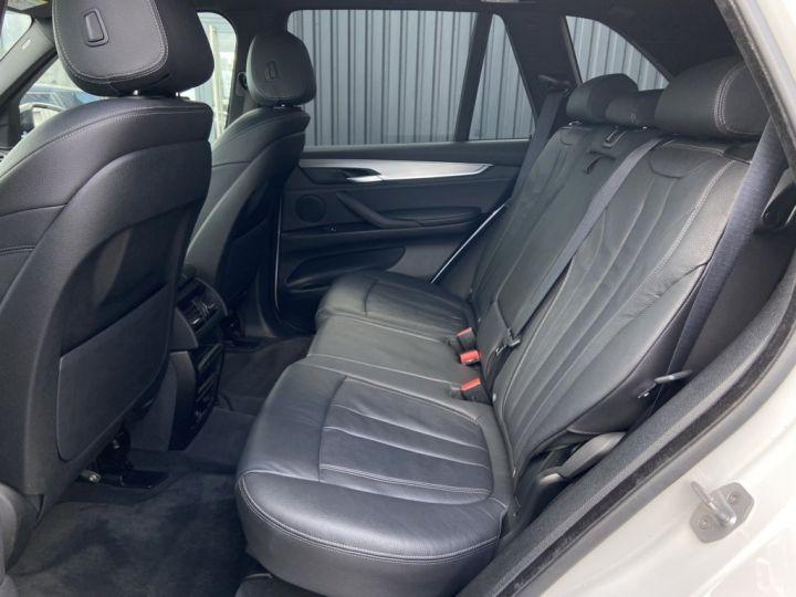 BMW X5 XDRIVE 40 D M-SPORT 313ch (F15) BVA8 7 places BLANC - 16