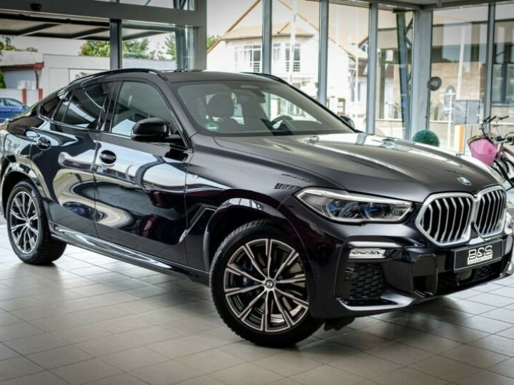 BMW X6 Noir métallisée  - 6