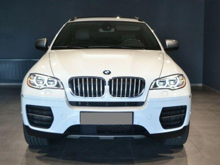 BMW X6 (2) M50DA 381 (07/2012) 5 places. BLANC ALPIN 3 - 2