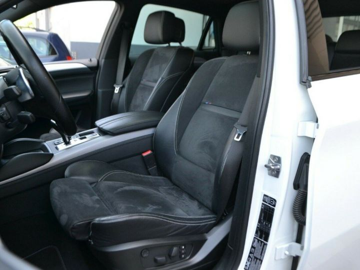 BMW X6 (2) M50DA 381 (07/2012) 5 places. BLANC ALPIN 3 - 12