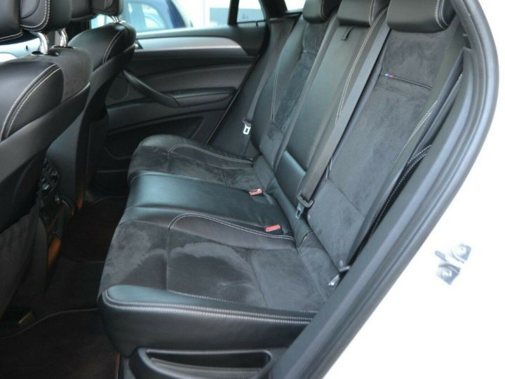BMW X6 (2) M50DA 381 (07/2012) 5 places. BLANC ALPIN 3 - 13